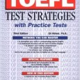 TOEFL Test Strategies with Practice Tests