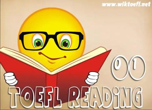 TOEFL Reading Practice Test 01 - Wikitoefl.Net