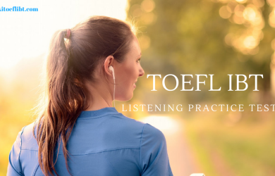 TOEFL IBT Listening Practice Test 11 From Delta's Key TOEFL Test