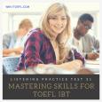 TOEFL iBT Listening Practice 31