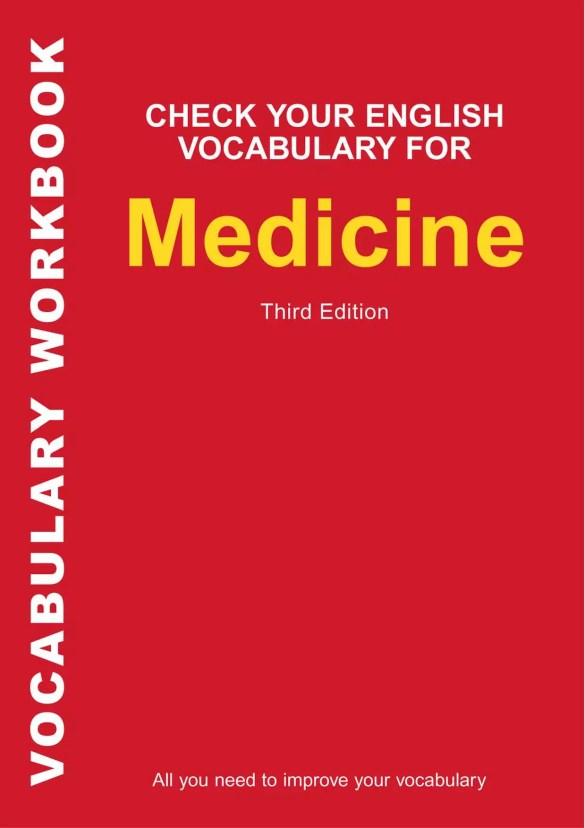 Check your english vocabulary forMedicine by Rawdon Wyatt