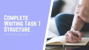 Complete Writing Task 1 Structure