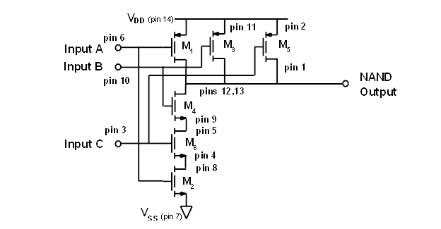 stage directions diagram tractor wiring alternator activity : build cmos logic functions using cd4007 array [analog devices wiki]