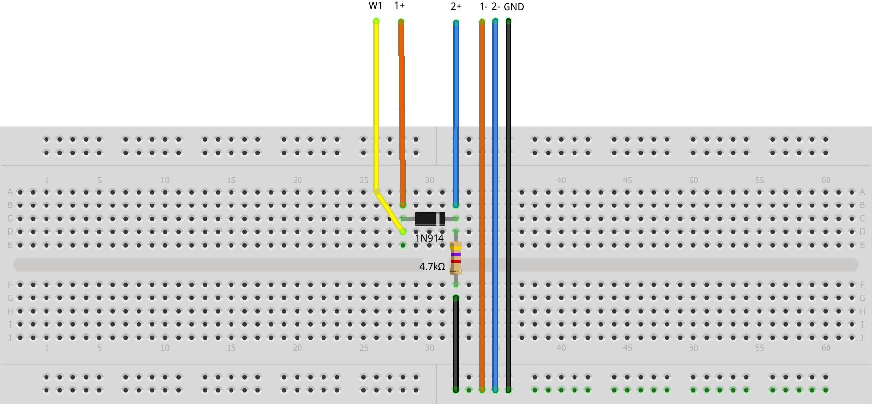 hight resolution of figure 7 half wave diode rectifier breadboard circuit