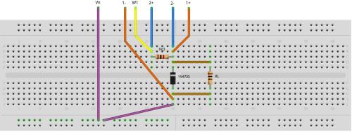 small resolution of figure 2 zener diode regulator breadboard circuit