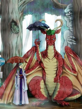 ผลการค้นหารูปภาพสำหรับ Dragon, Ie wo Kau