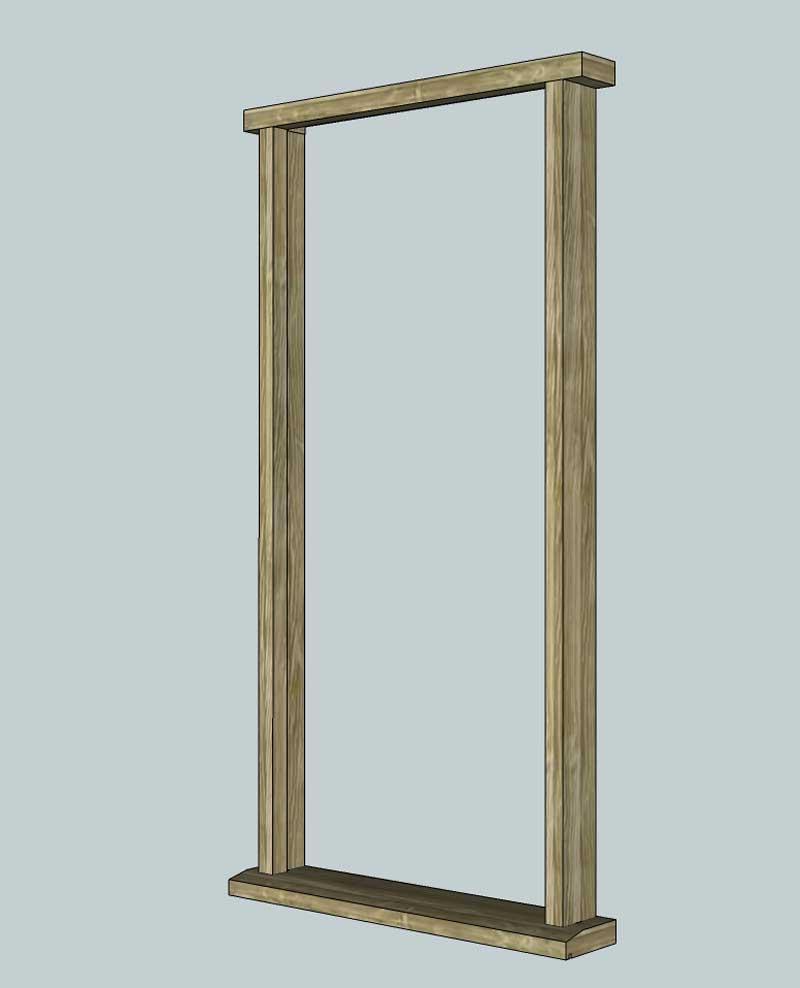 Door Frame: Door Frame Exterior