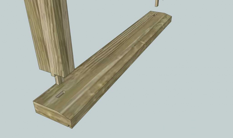 Build Exterior Door Jamb Sill