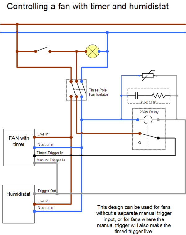 bathroom exhaust fan wiring diagram schneider shunt trip extractor diywiki with timed and humidistat trigger 2 png