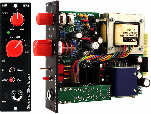 Sound Skulptor MP573 Preamp - DIYRE Wiki