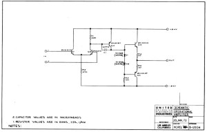 discrete op amp diy recording equipment