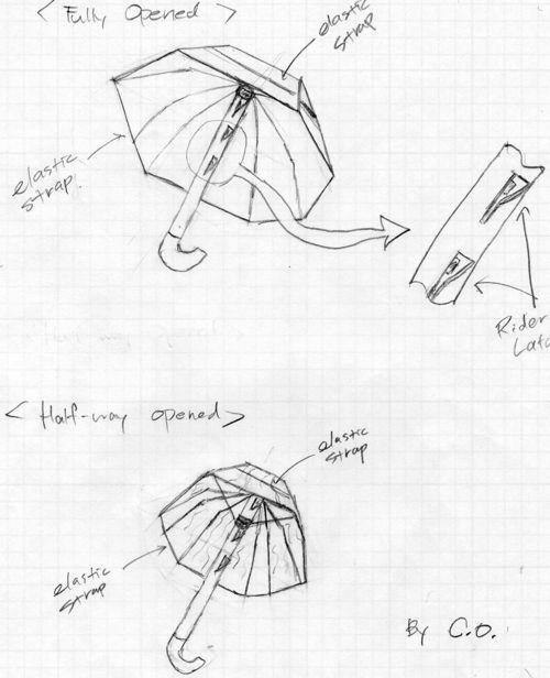 Umbrella Sketches