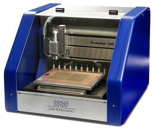 Lpkf Protomat S62 Printed Circuit Board Milling Machine