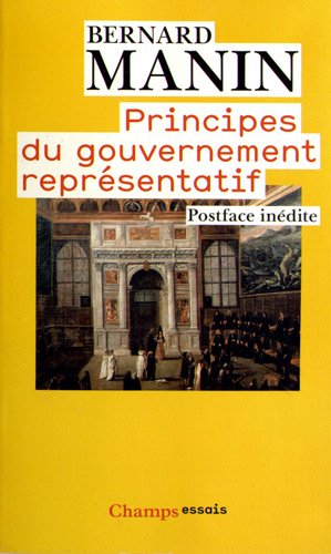 Bernard Manin Principe du gouvernement représentatif.jpg