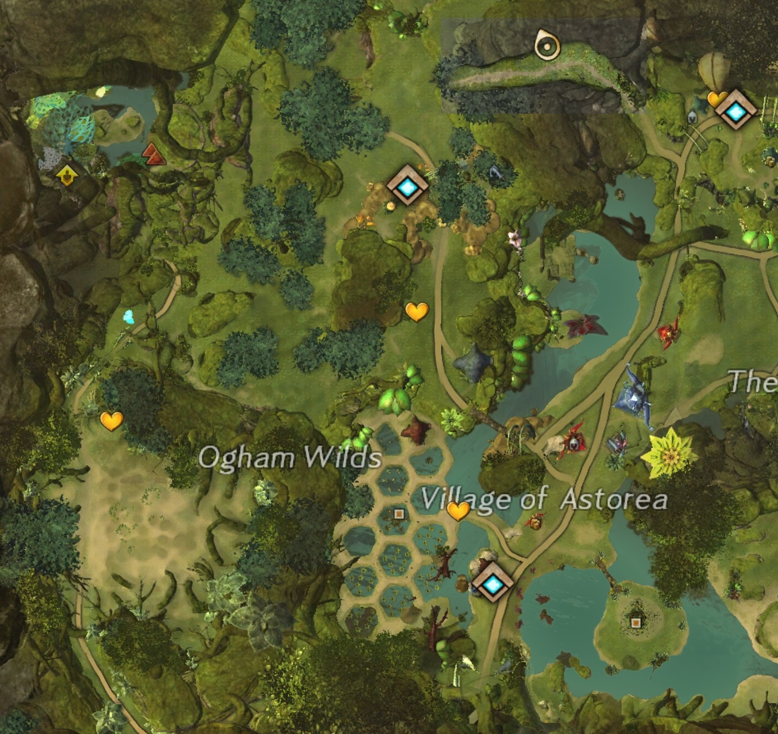 Caledon Forest Hero Points : caledon, forest, points, Ogham, Wilds, Guild, (GW2W)