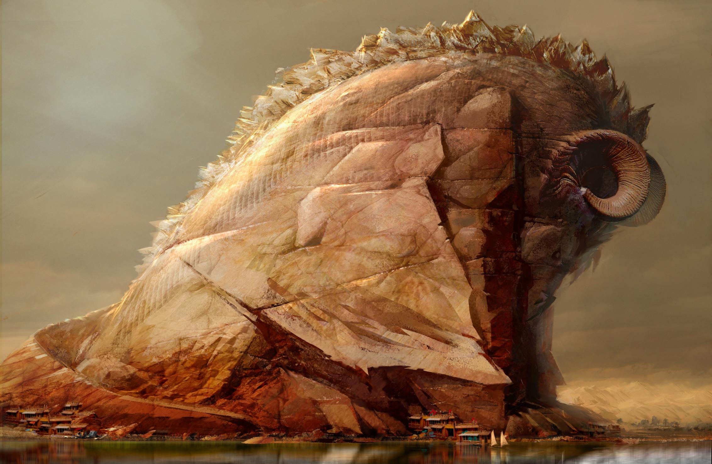 Early Concept of a sleeping Elder Dragon