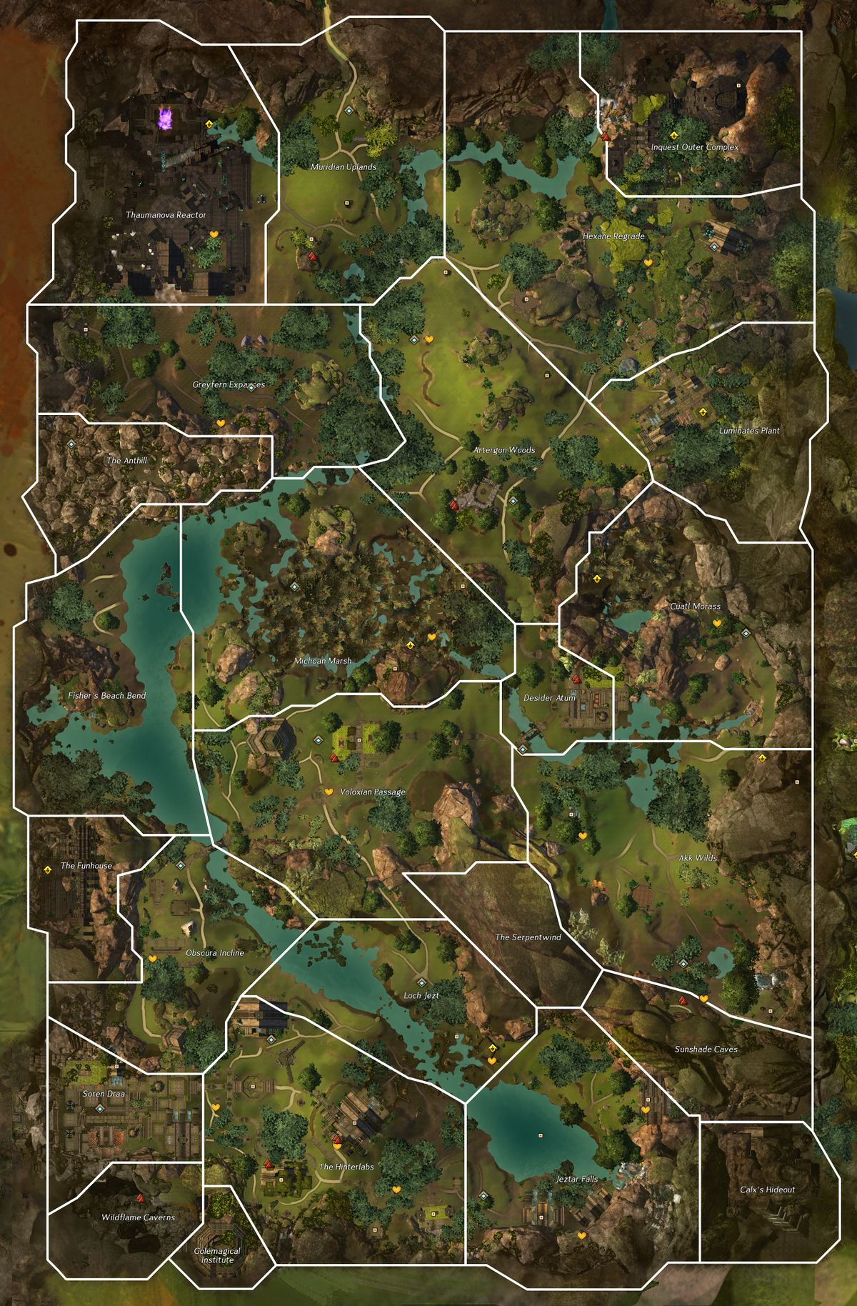 Caledon Forest Hero Points : caledon, forest, points, Metrica, Province, Guild, (GW2W)