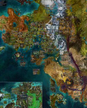 Path Of Fire Map : Guild, (GW2W)
