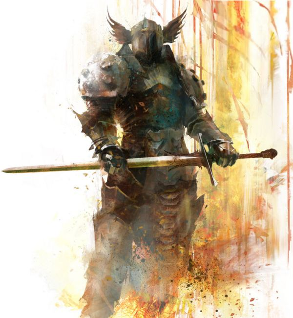 Guild Wars 2 Warrior Concept Art