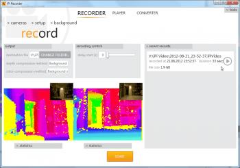 IPi Recorder User's Guide - iPiSoft Wiki