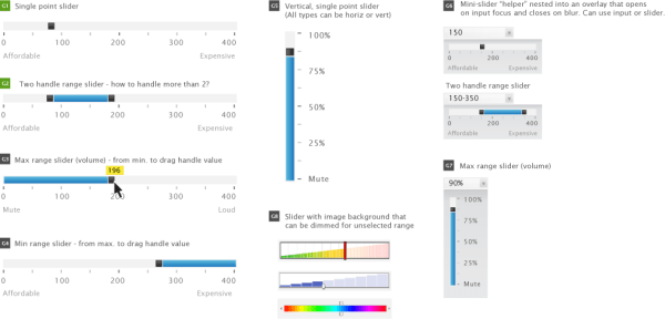 jQuery UI based GUI widgets