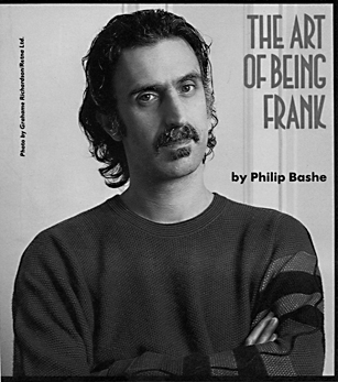 The Art Of Being Frank  Zappa Wiki Jawaka