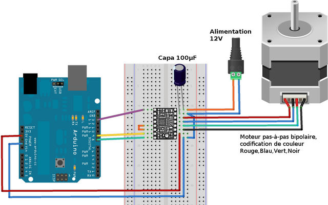 nema 17 wiring diagram cnc