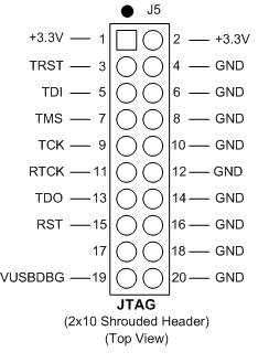 10 Pin Jtag Connector Pinout 7 Socket Pinout Wiring