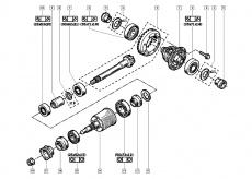 Hydrokupplung des 4x4