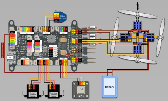 satellite wiring diagram 36v battery lisa/m v2.0 - paparazziuav