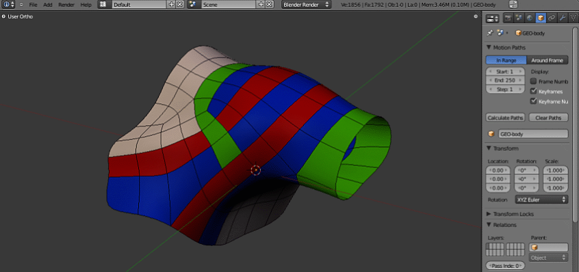 Shouldertopology Polycount