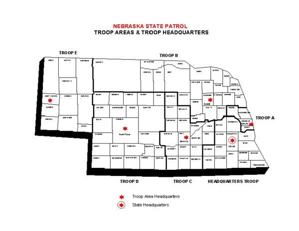 Nebraska state patrol roads report