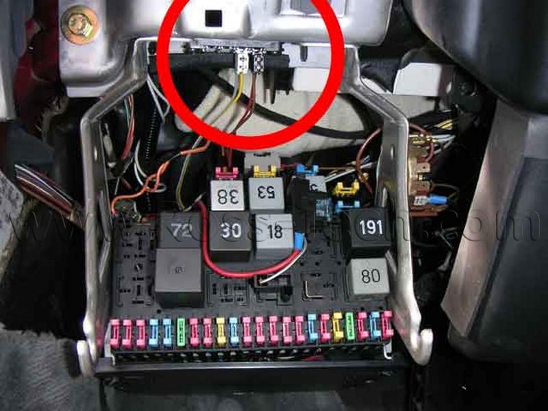 cabrio fuse box