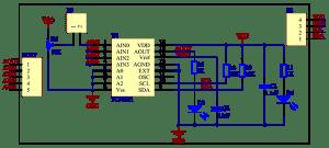 PCF8591 8bit AD and DA converter Module  Wiki