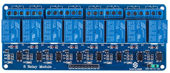 12 Volt Relay Wiring Schematic 8 Channel 5v Relay Module Wiki