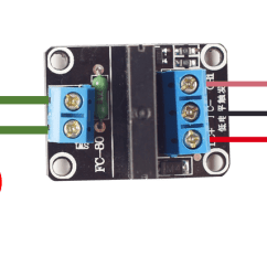 Solid State Relay Wiring Diagram Ceiling Fan 3 Speed Switch 1 Channel 5v Module Wiki Png