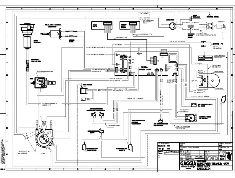 electrical diagram in building