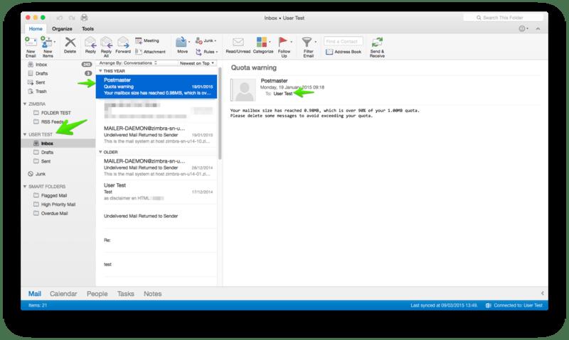 Outlook 2016 For Mac And Ews Setup Zimbra Tech Center