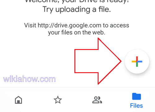 Google Drive Home Upload