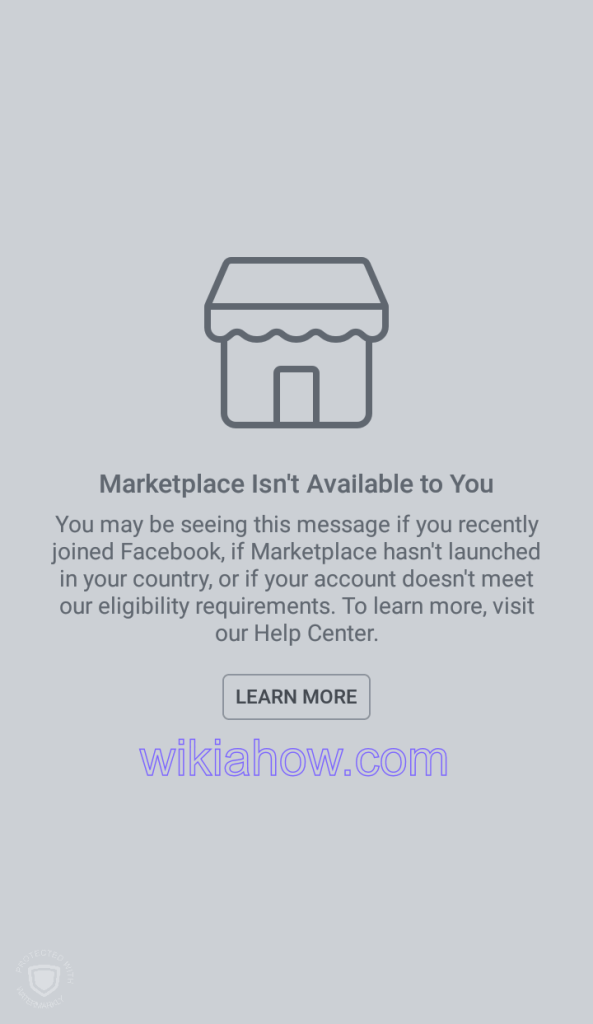 Facebook Marketplace For New Facebook Account