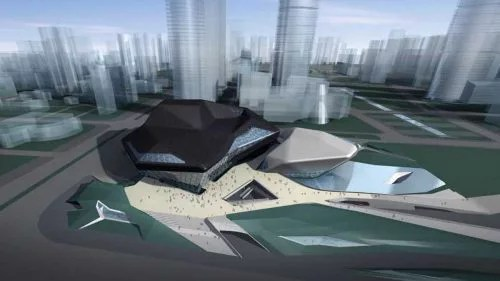 Guangzhou Opera House Data Photos Amp Plans