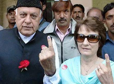 Sarah Pilot's parents - Farooq Abdullah and Mollie Abdullah