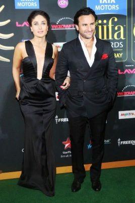 Saif Ali Khan with his wife Kareena Kapoor