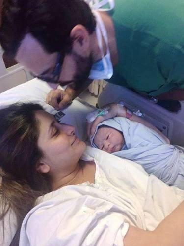 Saif Ali Khan and Kareena Kapoor's son Taimur