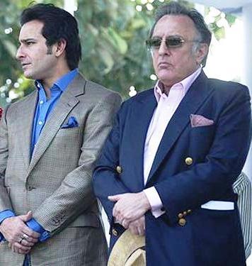 Saif Ali Khan with his father Mansoor Ali Khan Pataudi