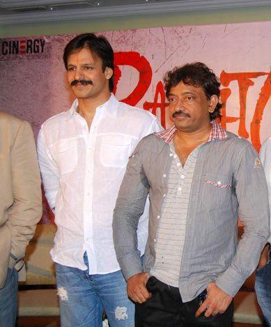 Vivek oberoi with Ram gopal varma