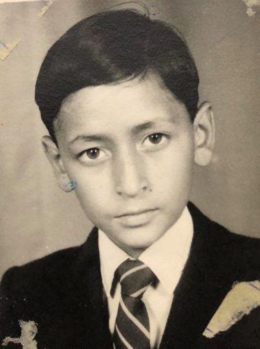 Deepak Rawat In His Childhood