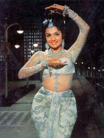 Asha Parekh Striking A Pose Of Dance