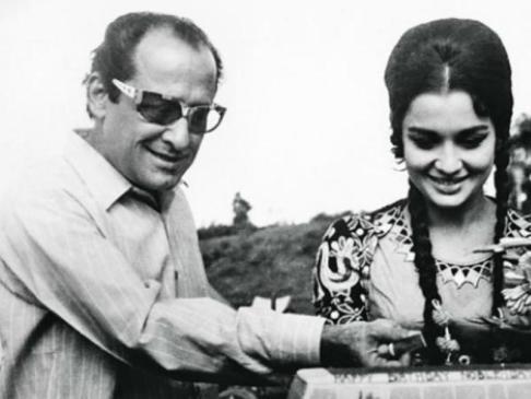 Asha Parekh With Nasir Hussain