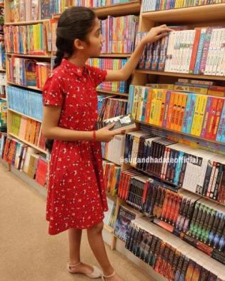 Sugandha Date loves books